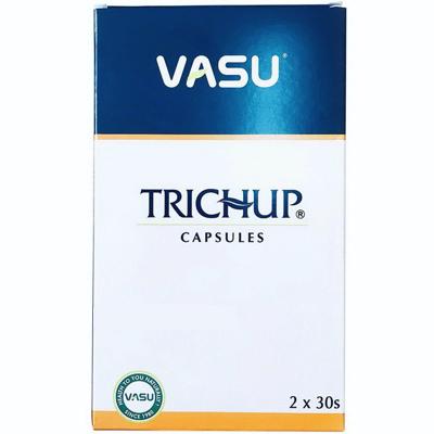 Травяные капсулы для роста и укрепления волос Тричуп Васу / Trichup Capsules Hair Nourishment Vasu 60 капс.