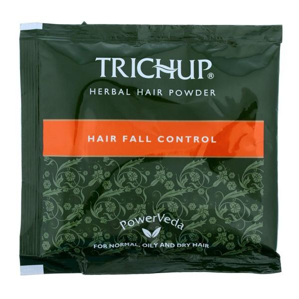 Маска против выпадения волос с натуральной хной Тричуп / Herbal hair powder Trichup / 1 пакетик по 30 г.